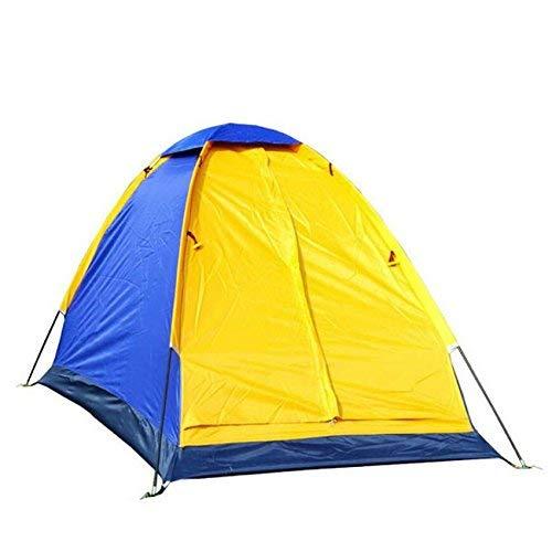 GZZ Guo Outdoor Produkte Outdoor für 1 Skylight Person Gebrauch Single Zelte, Camping mit Skylight 1 Zelte, Wasserdicht Silberband Wasserdicht, Portable Zelte f47899