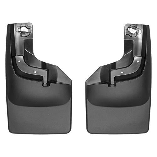 Ford Mud F250 Flaps (WeatherTech 110065 17+F250/F350 NO Drill MUD Flaps BLK)