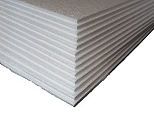 5 x POLYSTYRENE EPS FOAM PACKING SHEETS 600x400x10mm