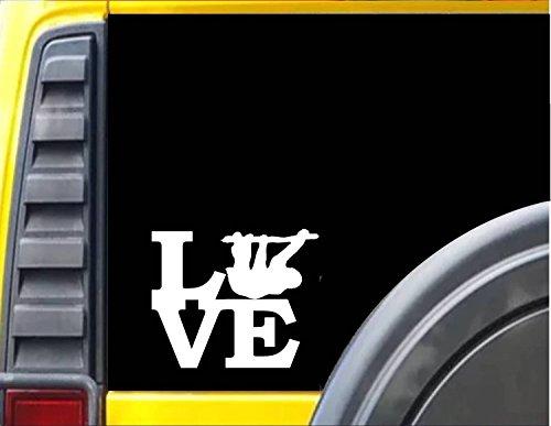 Ez-Stik Sloth Love Decal Stickerj516 - Ez-Stik