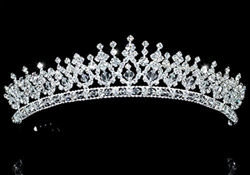 Exquisite Pageant Beauty Contest Sparkling Tiara by Exquisite