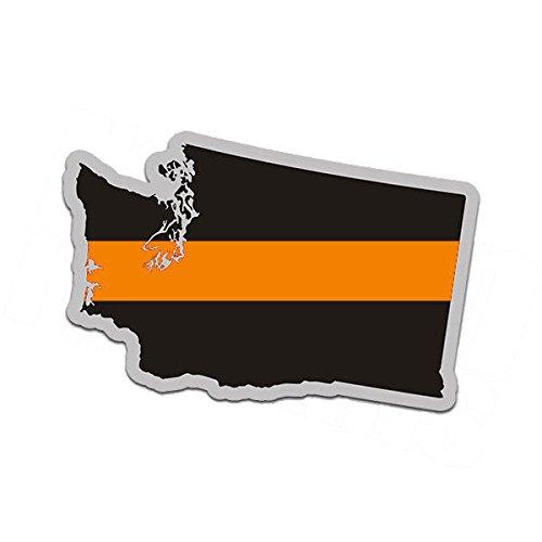1080GPHX Washington State Thin Orange Line WA Search Rescue SAR 4