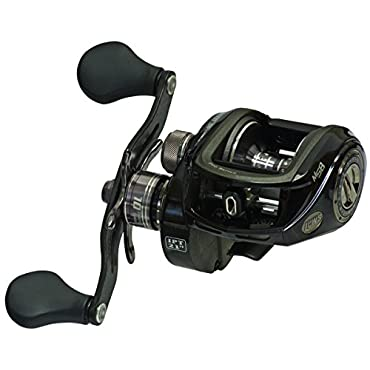 Lew's PS1SHZ Pro Series BB1 Baitcast Reverse Anti-Reverse Reel (7.1:1, Right Hand)