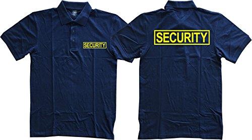 (Gs-eagle Men's Security Guard Graphic Polo T-Shirt XLarge)
