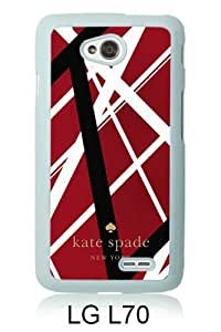 customized LG L70 Case Cover, Fashion Stylish DIY Kate Spade 83 White Case Cover For LG L70