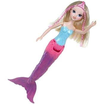Amazon.com: Moxie Girlz Magic Swim Mermaid Doll - Avery