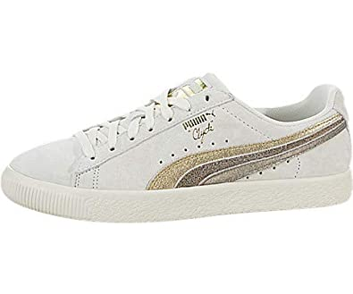 release date: 100db 00d44 Amazon.com | PUMA Clyde Metal Leather | Fashion Sneakers