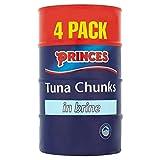 Princes Tuna Chunks in Brine (4x160g)