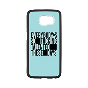 Dustin Funny Quote Samsung Galaxy S6 Cases Talented, [White]