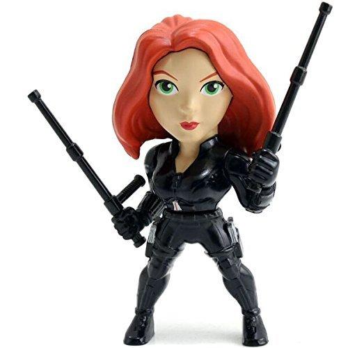 Black Widow (Captain America Civil War) 4 Inch Diecast Metal Figure by Captain America Civil War