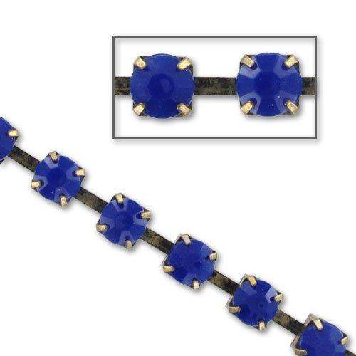 Catena strass acrilico mm. 8 Cobalt bronze xm. 1 Inconnu