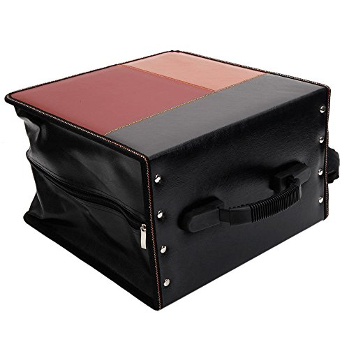 520 Disc Cd - 520 Disc Faux Leather Patchwork CD DVD Storage Bag Holder Case