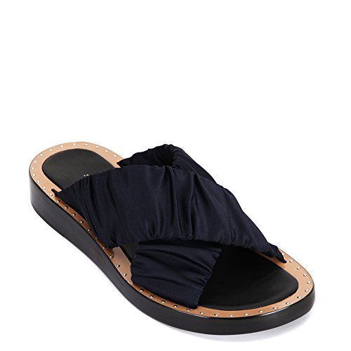 3.1 Phillip Lim Women's Nagano Flat Crisscross Slide SHE7-T353SBP Navy (EU 40 / US 9.5~10 B(M)) by 3.1 Phillip Lim