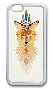 Apple Iphone 6 Case,WENJORS Awesome fox spirit Soft Case Protective Shell Cell Phone Cover For Apple Iphone 6 (4.7 Inch) - TPU White