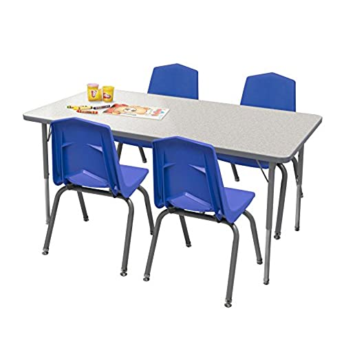 preschool table and chairs. Marco Group Rectangular Activity Table And Chair Set, 48\ Preschool Chairs R