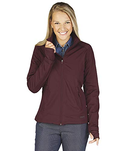Charles River Women's Axis Soft Shell Jacket (XS, Maroon)
