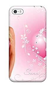 Anti-scratch And Shatterproof Sara Jean In A Pink Bunny Top Phone Case For Iphone 5/5s/ High Quality Tpu Case wangjiang maoyi