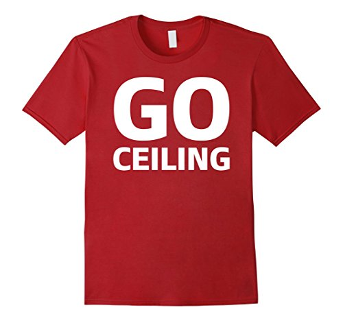 [Men's Go Ceiling Fan Funny Simple Halloween Costume T-Shirt Tee Medium Cranberry] (Funny Weird Halloween Costumes)