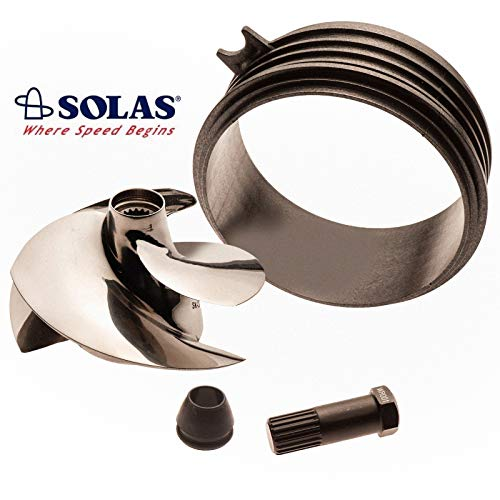 Solas Sea Doo Spark 2-UP 3-UP Impeller SK-CD-12/17 w/ Wear Ring & Impeller -