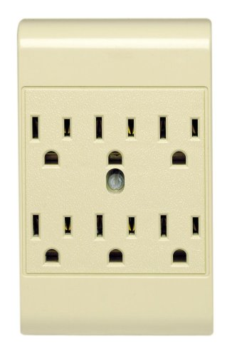 Leviton L01 49686 00I Outlet Adapter Grounded