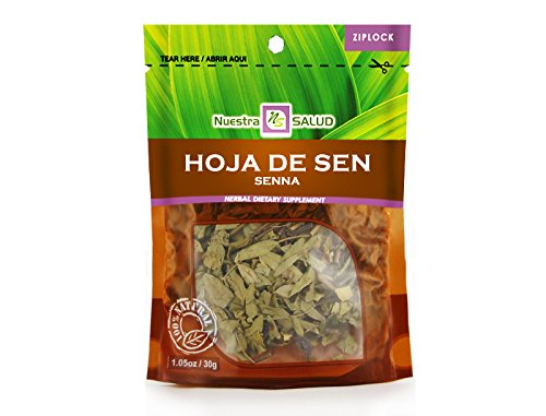 - Hoja De Sen - Senna Herbal Tea Infusion