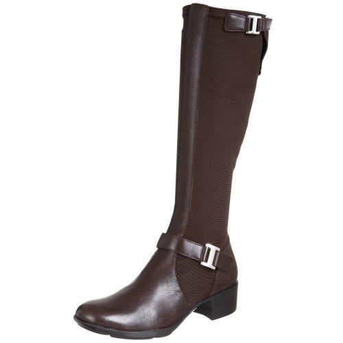 Etienne Aigner Women's Whitney Tall Fabric Strech Boot,Godiva,9.5 -