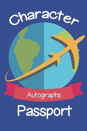 Character Passport Paperback Autograph Book ()