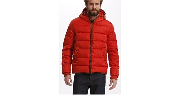 Desigual Chaq_Zurtz - Abrigo de plumas para hombre, color orange (naranja), talla m: Amazon.es: Ropa y accesorios