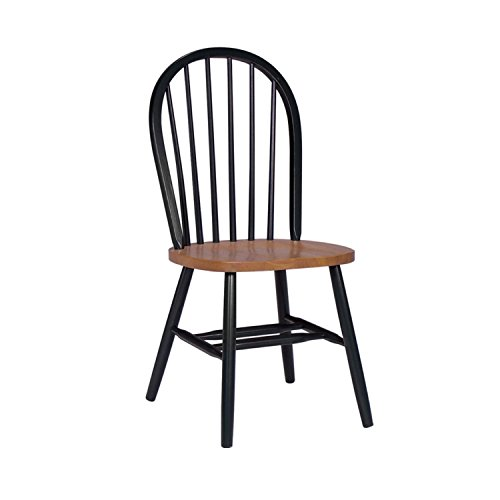 International Concepts C57-212 37-Inch High Spindle Back Chair, (Spindle Back Cherry)