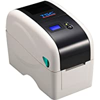 TSC 99-040A010-42LF Desktop Thermal Transfer Barcode Printer, TTP-225, 203 dpi, 5 IPS, 2 Print Width, LCD Display, Ethernet without RS-232, Navy