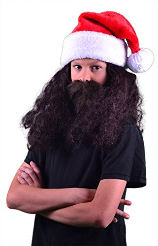 My Costume Wigs Duck Dynasty Child Willie Santa Claus Discount Set