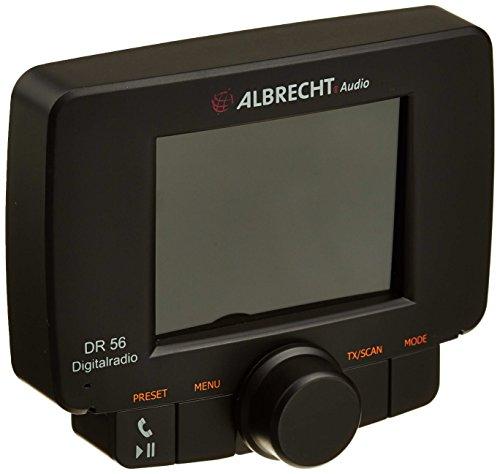 Albrecht 4032661273567 DR56 Autoradio Adapter (DAB, DAB+, Bluetooth) schwarz