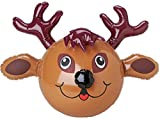 Large Festive Inflatable Reindeer Christmas Decoration