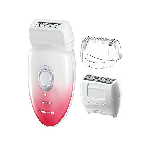 Panasonic ES-EU20-P Shaver and Epilator with Three Attachments and Tra 259473-8