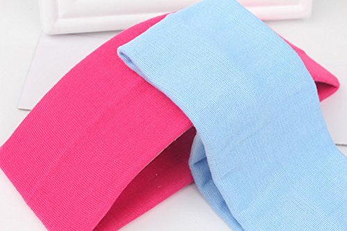 "SCStyle 2.5"" Wide Stretchy Cotton Yoga Headband (12 Colors)"