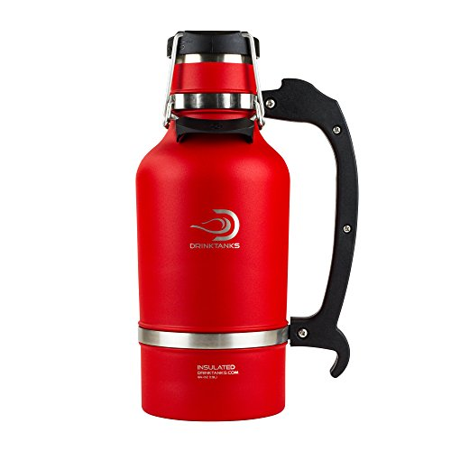 UPC 855209005857, DrinkTanks Vacuum Insulated Stainless Steel Beer Growler, 64 oz.