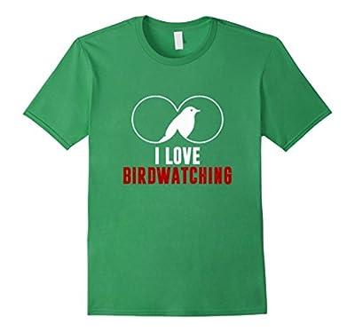 I love Bird Watching T-Shirt by Birder Tees