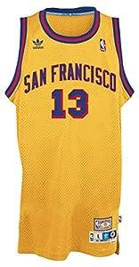 ... Wilt Chamberlain Golden State Warriors Gold Throwback Swingman Jersey  ... 1ad75f5d4