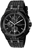 Maurice Lacroix Men's 'Aikon' Swiss Quartz Stainless Steel and Rubber Watch, Color:Black (Model: AI1018-PVB01-333-1)