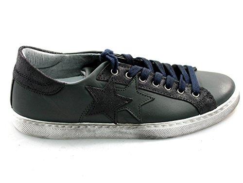 2Star , Herren Sneaker NAVY/VERDONE