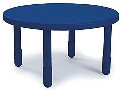 Amazon.com: Mesa redonda en Royal Azul (14 en. Altura ...