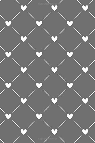 Journal Notebook White Quilted Hearts Pattern 9: 110 Page Plain Blank Journal For Drawing, Writing, Doodling In Portable 6 x 9 Size. (The Write Way Plain Journal Series) (Volume 9) PDF