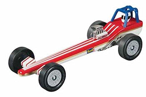 Revell Pinewood Derby Dragster Premium Racer Kit