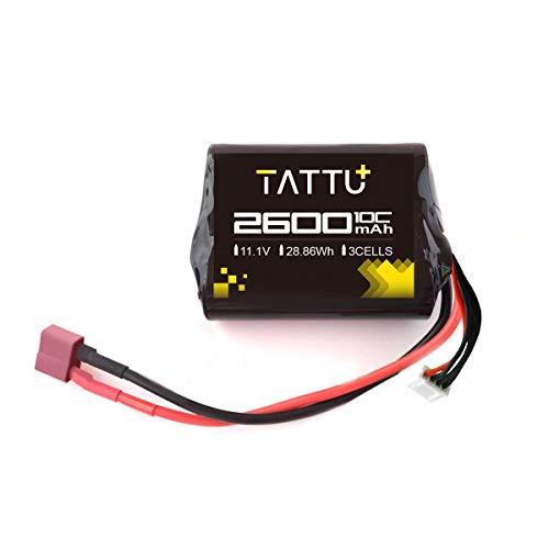 TATTU 2600mah 11.1V Brick Airsoft Batería con conector Deans para pistola Airsoft
