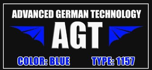 1157 BAY15D Blue LED Bulbs 3496 2057 2357 12499 12494 (Pack of 2)