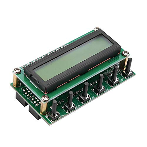 (Walfront DDS Signal Generator, 0-55MHz LCD Screen DDS Function Signal Generator Module Digital Tester Based on AD9850 Chip)