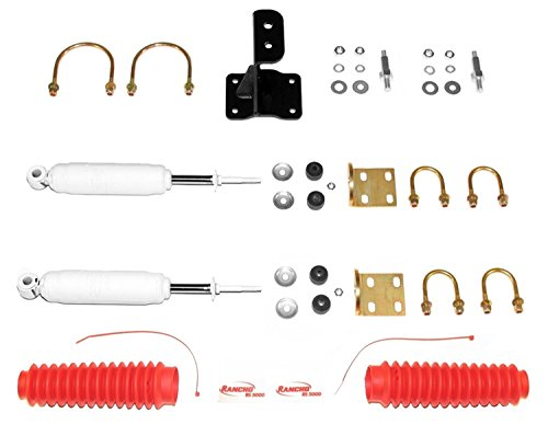 Rancho RS98510 Steering Stabilizer Kit by Rancho