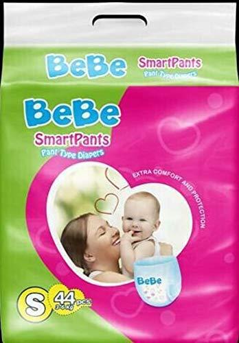 BeBe Smartpants Diapers Regular Pack   S  44 Pieces
