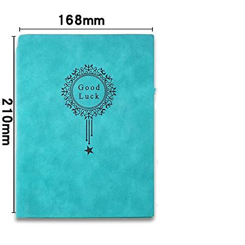Piel de oveja Cuaderno de cuero - Cuaderno de negocios/Bloc ...