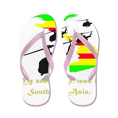 CafePress Senior Trip - Flip Flops, Funny Thong Sandals, Beach Sandals Pink